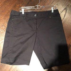 Black Bermuda style short